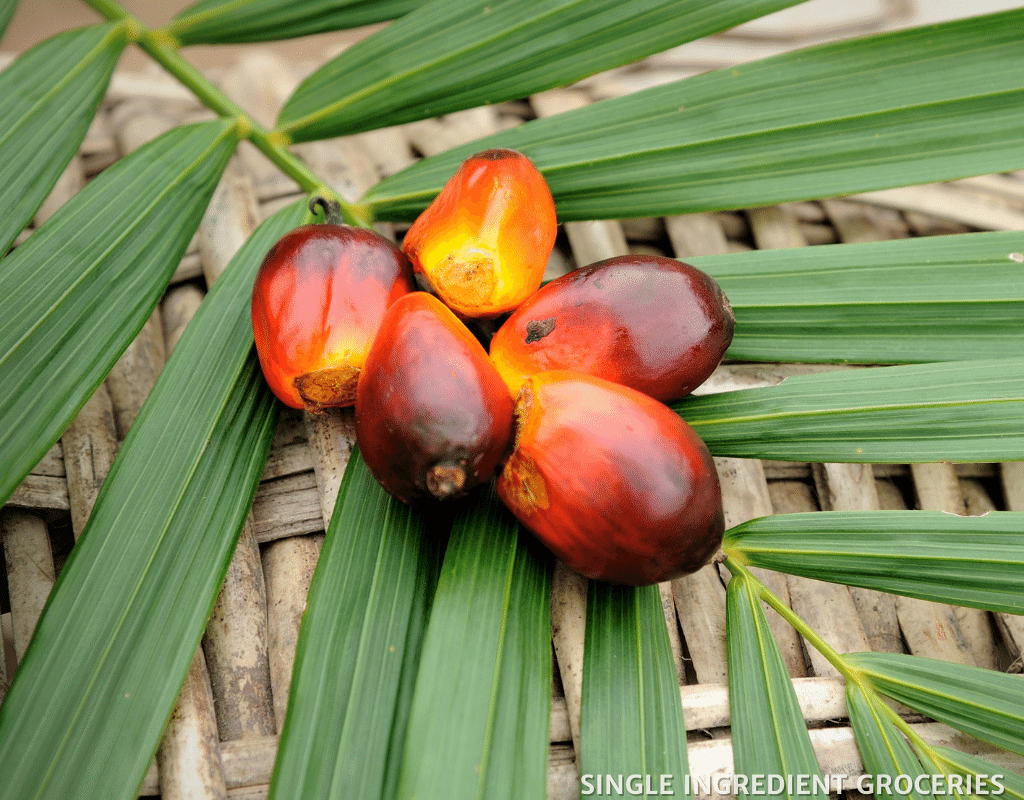 red palm oil is sustainable