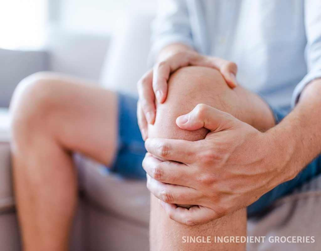 knee joint pain, nightshade allergy