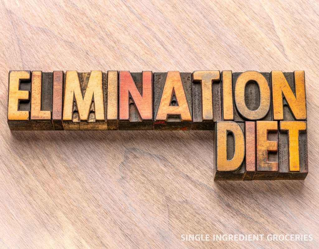 elimination diet sign for nightshade allergy