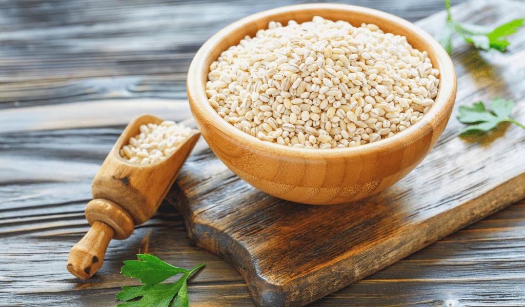 barley in a bowl