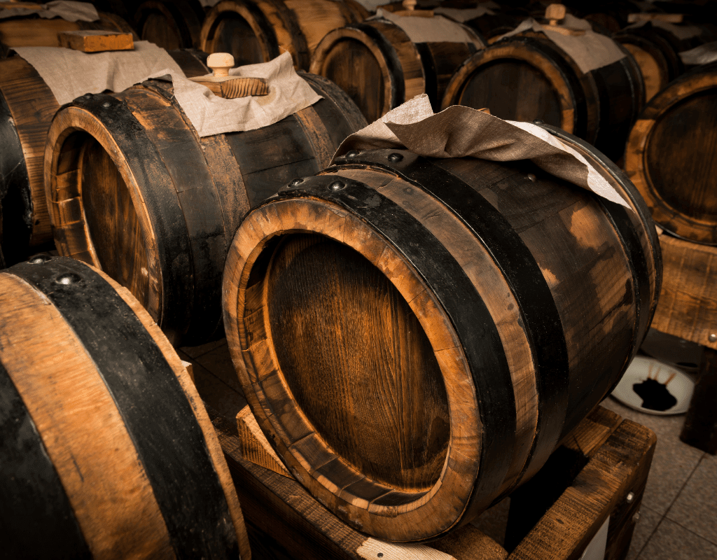 balsamic vinegar barrels - how white balsamic vinegar is made