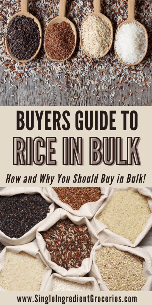 buyers guide to rice in bulk